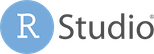 RStudio Logo (goes to external site)